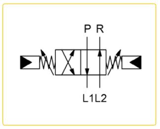 Гидравлический реверсивный клапан TWIN-PUMP